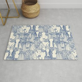 just cattle classic blue pearl Rug