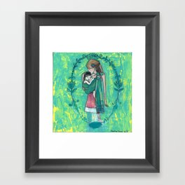 Adopt Framed Art Print