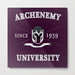 Archenemy University  Metal Print
