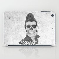 rockabilly iPad Cases featuring Rockabilly for ever & ever by Stavros Damos