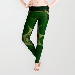 Fauna so fresh on a wonderful mandala ornate Leggings
