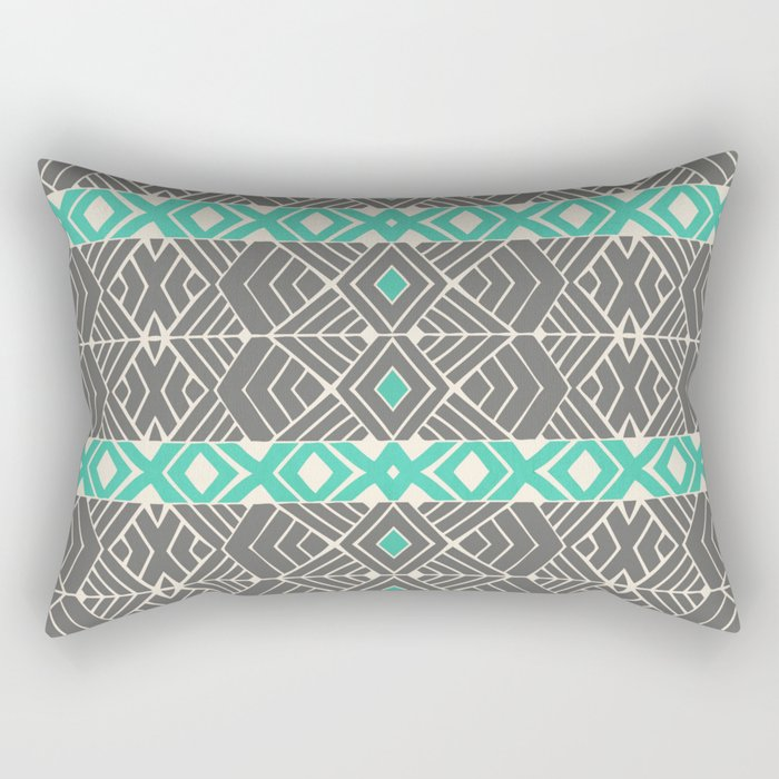 Going Tribal Rectangular Pillow