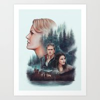 The Charming Family Art Print