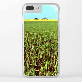 High Plains Crop Clear iPhone Case