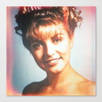 """laura palmer Canvas Prints featuring Twin Peaks """"Laura Palmer"""" by Spyck"""