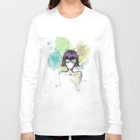 mia wallace Long Sleeve T-shirts featuring Mia. by Cloe