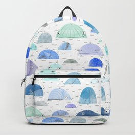 Whale party Backpack