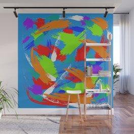 Light Blue Emotions  Wall Mural