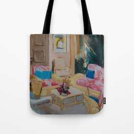 Golden Girls living room Tote Bag