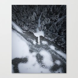 Frozen Lake Canvas Print