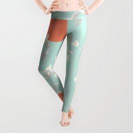 Koi fish pattern 005 Leggings