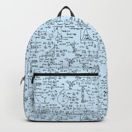 Physics Equations // Baby Blue Backpack