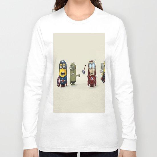 Minion Avengers Long Sleeve T-shirt