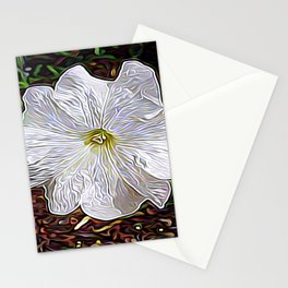 Enchanted Flower Stationery Cards
