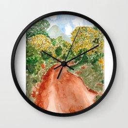 The Road to Rackoko Wall Clock