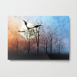 Vollmond Metal Print