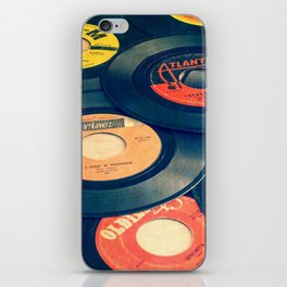 Take those old records off the shelf iPhone Skin