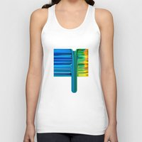 waterfall Tank Tops featuring Waterfall by Bruce Stanfield