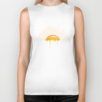 the breakfast club Biker Tanks featuring Breakfast by carbine