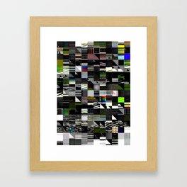 Abstract digitalism pt. I Framed Art Print