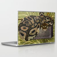 monty python Laptop & iPad Skins featuring Python - Thor by ArtLovePassion