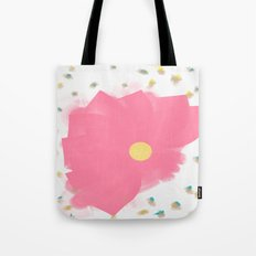 Floral Drops Tote Bag