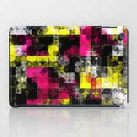 contemporary iPad Cases featuring Contemporary Geometric by Idle Amusement