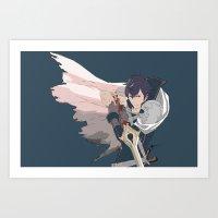 fire emblem Art Prints featuring Chrom - Fire Emblem Awakening  by MKwon