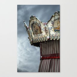 Beautiful carrousel Canvas Print