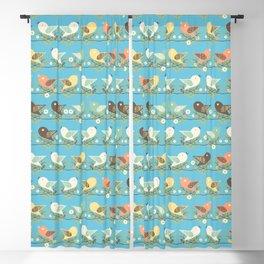 Assorted birds pattern Blackout Curtain