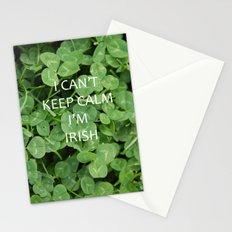 I Can't Keep Calm I'm Irish Stationery Cards