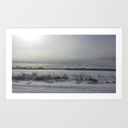 Perfect Snow Art Print