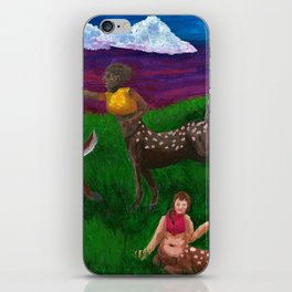 Cervitaurs At Play iPhone Skin