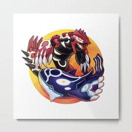 Alpha & Omega Metal Print