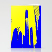 metropolis Stationery Cards featuring Metropolis by osile ignacio