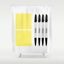UX Design Toolkit Shower Curtain