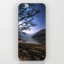 Night sky in Glendalough, Wicklow Mountains - Ireland Print (RR 266) iPhone Skin
