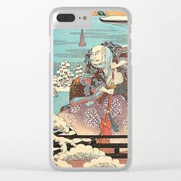 Hiroshige Clear iPhone Case
