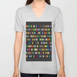 Color by Number: Pi Unisex V-Neck