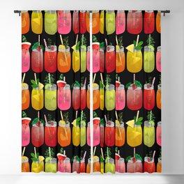 Summer Cocktails Blackout Curtain