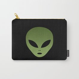 Extraterrestrial Alien Face Carry-All Pouch