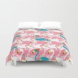 Pink Flamingo Duvet Cover