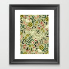 Bright & Joyful Framed Art Print