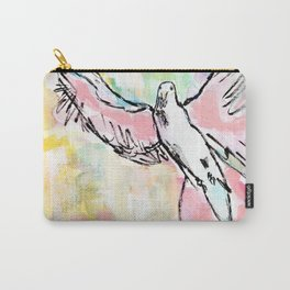 Dove In Color Carry-All Pouch