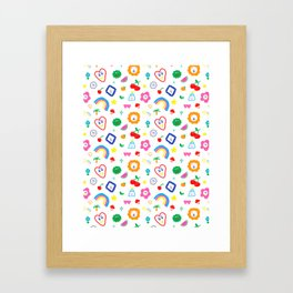 Lucky Charms Framed Art Print