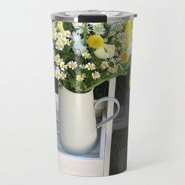 At the florists Travel Mug