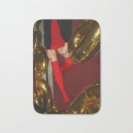 gold rugs Bath Mat