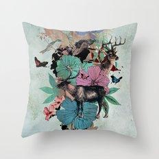 De Natura Throw Pillow