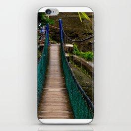 Swinging Bridge -Guam iPhone Skin