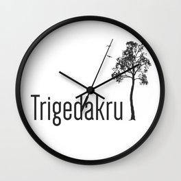 Trigedakru  Wall Clock